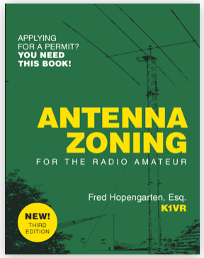 Antenna Zoning for Radio Amateurs Book